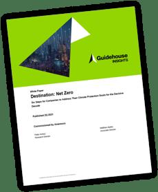 Guidehouse Insights - WP - Destination Net Zero Cover